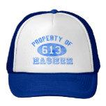 Propiedad de los gorras de Hashem