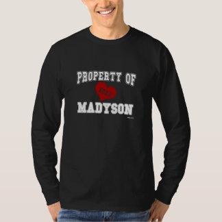 Propiedad de Madyson Playeras