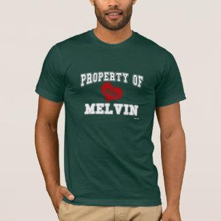 Propiedad de Melvin Playera