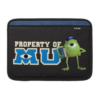 Propiedad de Mike de MU Funda MacBook