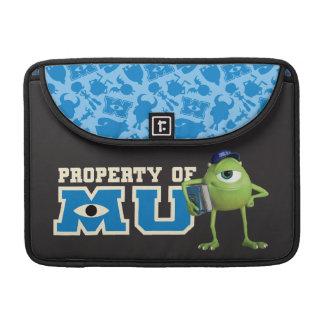 Propiedad de Mike de MU Funda Para Macbook Pro