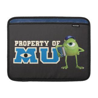 Propiedad de Mike de MU Fundas Macbook Air