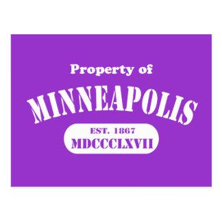 Propiedad de Minneapolis Postal