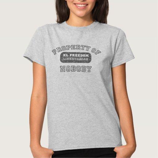 Propiedad de nadie T-s libertarios… - Modificado T Shirt