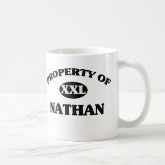 Propiedad de NATHAN Taza De Café
