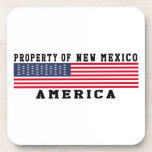 Propiedad de New México Posavasos