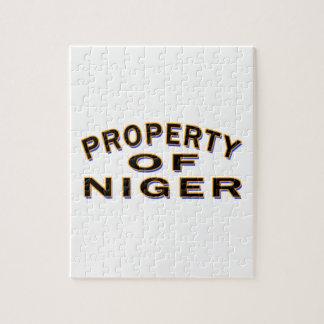 Propiedad de Niger Puzzle Con Fotos