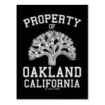 Propiedad de Oakland Postales