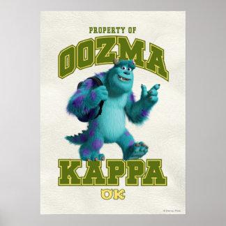 Propiedad de OOZMA KAPPA Posters