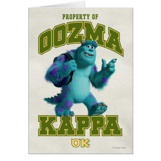 Propiedad de OOZMA KAPPA Tarjeta Pequeña