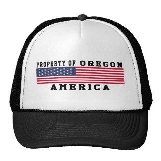 Propiedad de Oregon Gorros Bordados