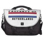 Propiedad de Países Bajos Bolsas De Ordenador