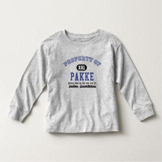 Propiedad de Pakke Playera De Bebé
