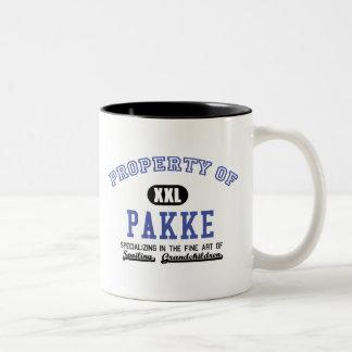 Propiedad de Pakke Taza De Café De Dos Colores