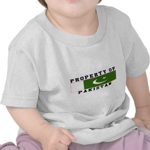 Propiedad de Paquistán Camisetas