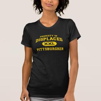 Propiedad de Pittsburgher desplazado Playeras