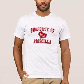Propiedad de Priscilla Playera