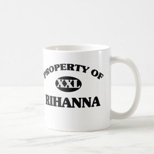 Propiedad de RIHANNA Tazas De Café