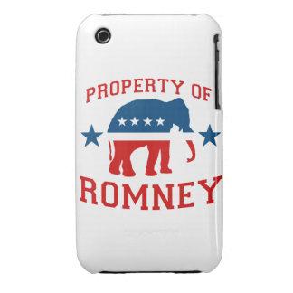 PROPIEDAD DE ROMNEY Case-Mate iPhone 3 CARCASA