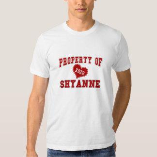Propiedad de Shyanne Remera