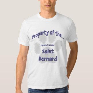 Propiedad de St Bernard Playera