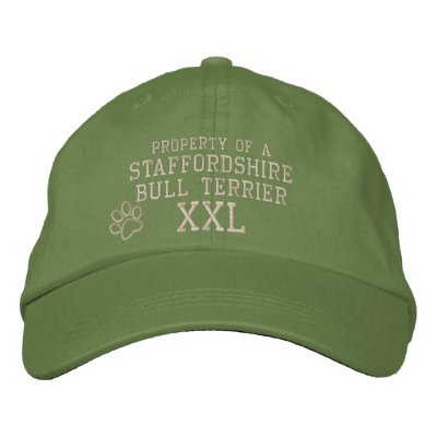 Propiedad de Staffordshire bull terrier Gorra De Béisbol
