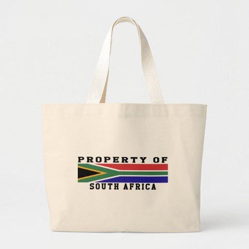 Propiedad de Suráfrica Bolsa Lienzo