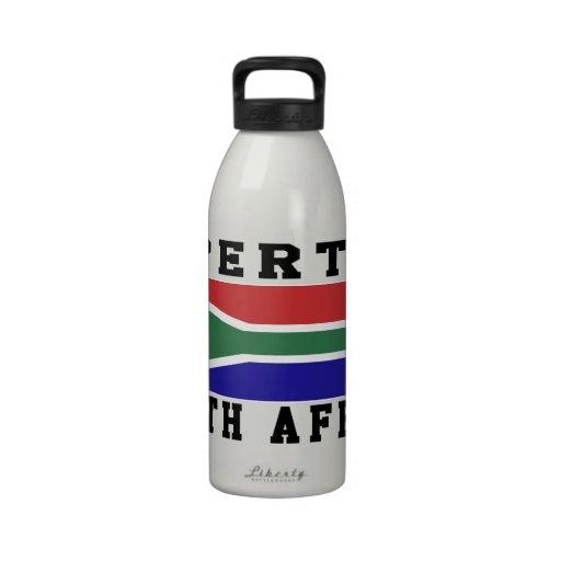 Propiedad de Suráfrica Botella De Agua