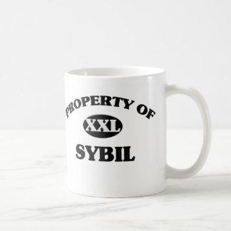 Propiedad de SYBIL Taza De Café