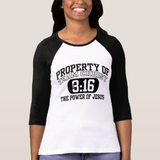 Propiedad de TeamCHRIST John3: 16 el poder de Camiseta