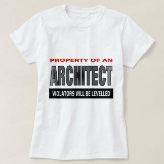 Propiedad de un arquitecto camisas
