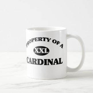Propiedad de un CARDENAL Tazas De Café