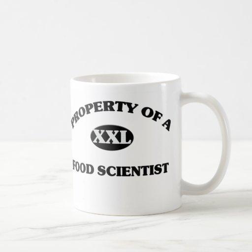 Propiedad de un CIENTÍFICO de la COMIDA Tazas De Café