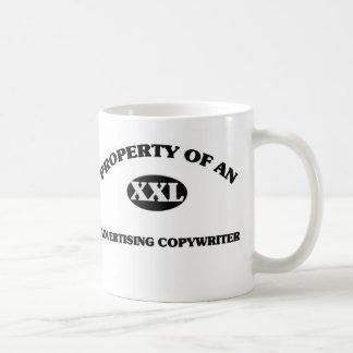 Propiedad de un COPYWRITER de la PUBLICIDAD Tazas De Café