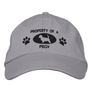 Propiedad de un gorra bordado PBGV Gorra De Béisbol