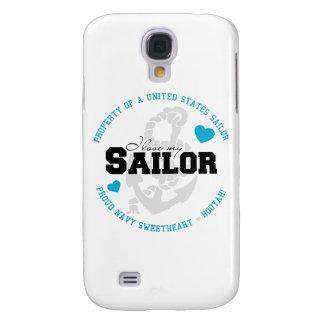 Propiedad de un marinero de los E.E.U.U. Funda Para Galaxy S4