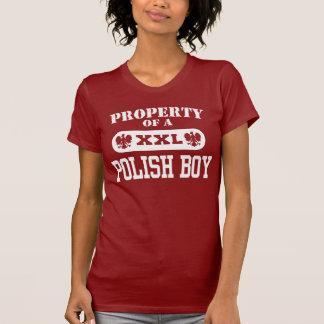 Propiedad de un muchacho polaco tshirt