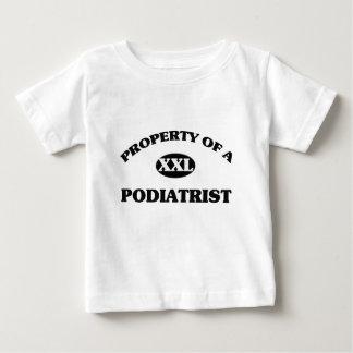 Propiedad de un PODIATRIST Camisas