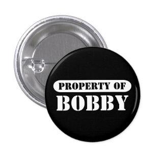 Propiedad del botón de Bobby Pin Redondo De 1 Pulgada