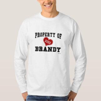 Propiedad del brandy playera