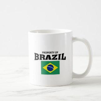 Propiedad del Brasil Taza Clásica