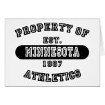 Propiedad del camisetas de Minnesota Felicitaciones