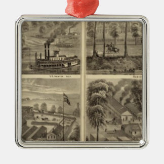 Propiedad del carbón y de la sal de la ciudad de H Adorno De Navidad
