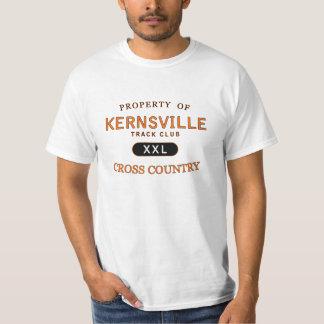 Propiedad del club de la pista de Kernsville Playera
