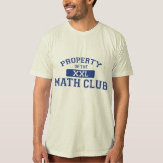 Propiedad del club XXL de la matemáticas Playera