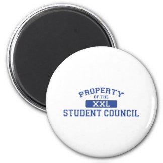 Propiedad del consejo de estudiantes XXL Imán Redondo 5 Cm