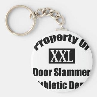 Propiedad del departamento atlético de Slammer de  Llaveros Personalizados