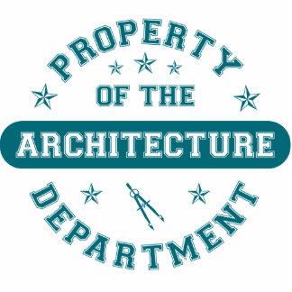 Propiedad del departamento de la arquitectura escultura fotográfica