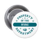 Propiedad del departamento de la HVAC Pin Redondo 5 Cm