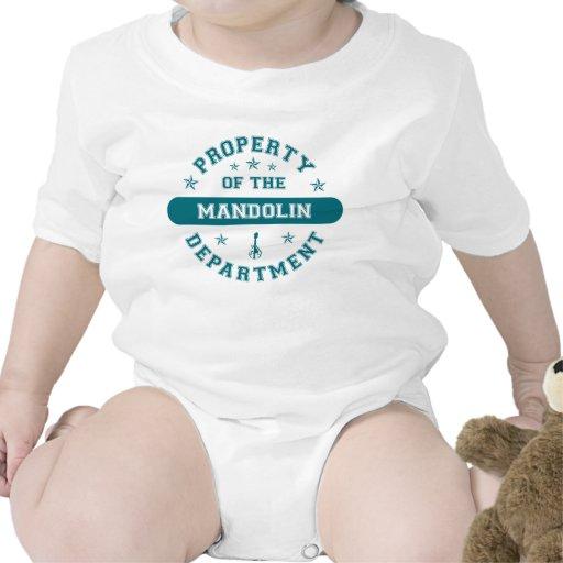 Propiedad del departamento de la mandolina trajes de bebé